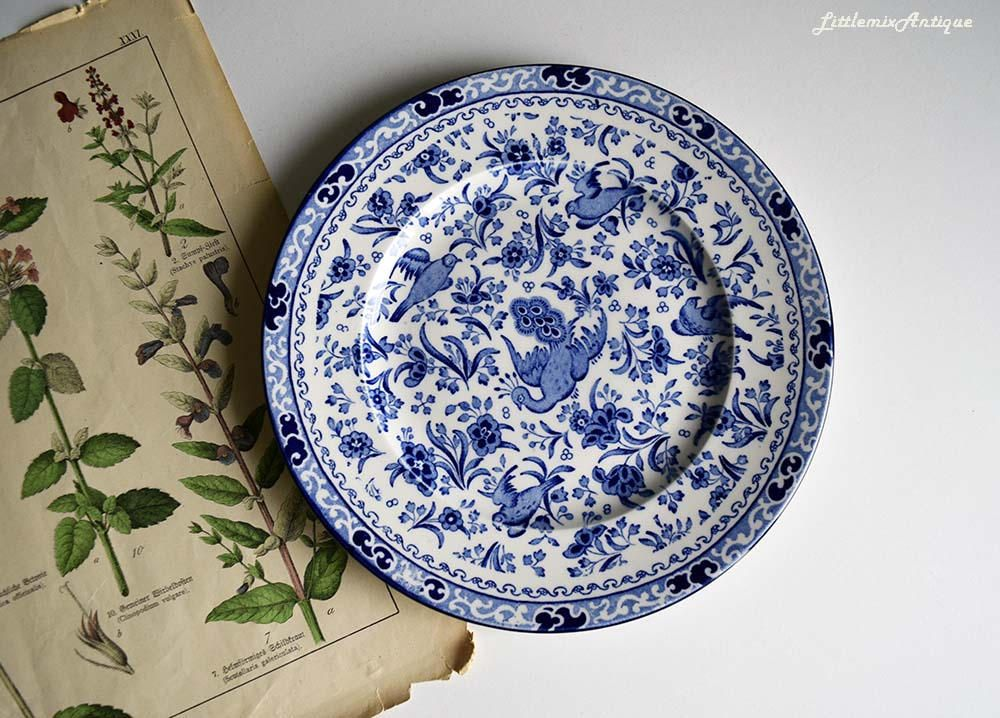 Your Place To Buy And Sell All Things Handmade White Bird Transferware Vintage 1930s