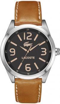 9d94bc02e3aa  158 Reloj hombre Montreal Lacoste caja acero esfera negra correo piel