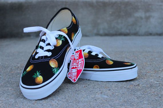 984ceb5ba5 Pineapple VANS fruit of your choice by Sophiescustomshoes on Etsy ...