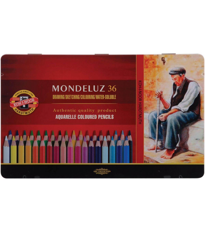 Mondeluz Aquarell Watercolor Pencils 36pk In 2020 Watercolor