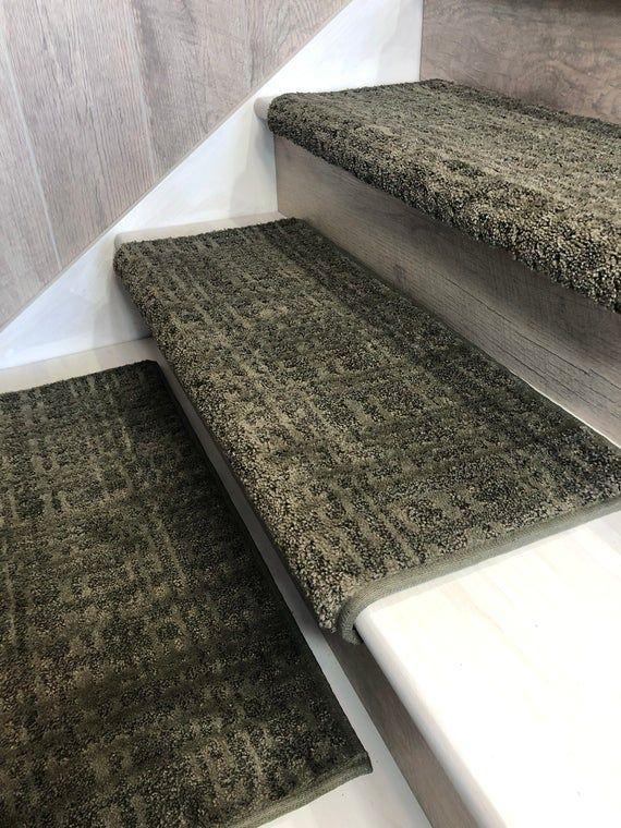 Best Padded Carpet Stair Treads Crossroads Sherwood 640 x 480