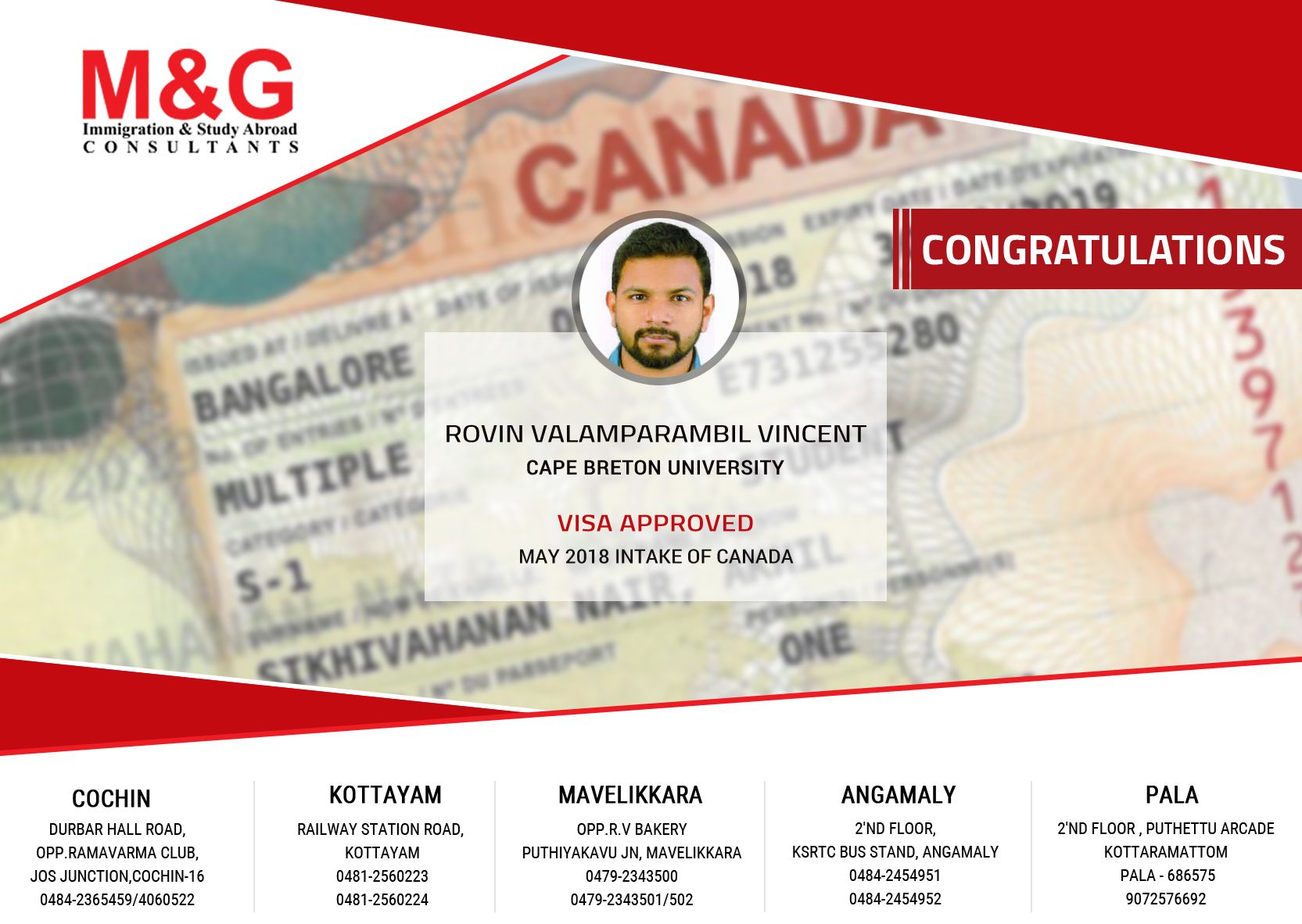 Congratulations To All On Getting Your Visa Approved Wishing All