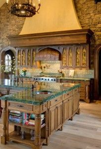 Castle Kitchen Hooked On Houses Italian Kitchen Design Italian Style Kitchens Tuscan Kitchen