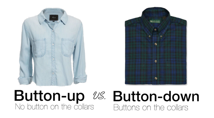 Difference between button-down and button-up shirts | Fashion ...