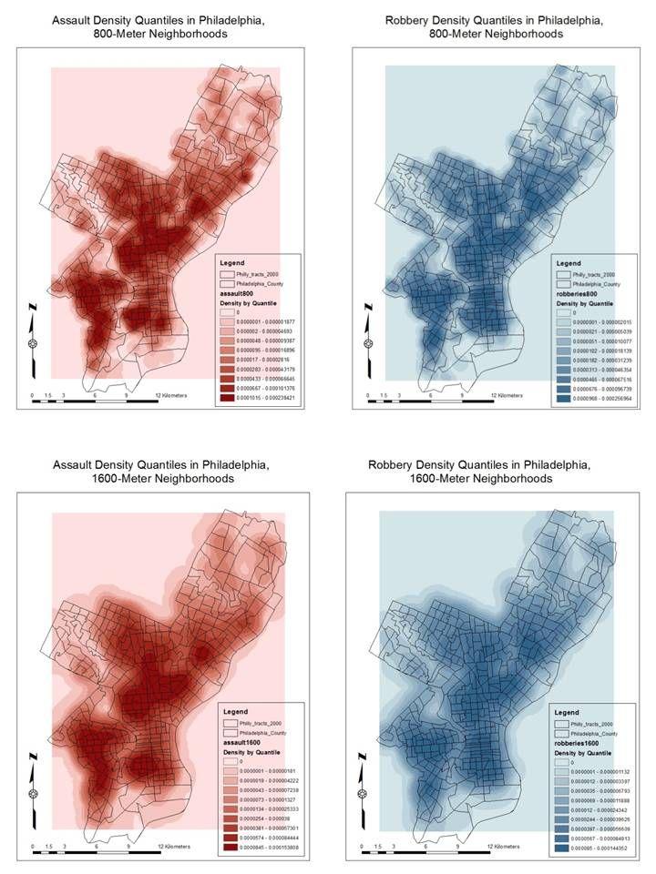 Crime Clustering in Philadelphia Using Kernel Density