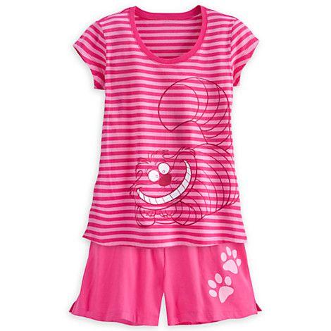 9919abfa47b9 Cheshire Cat Pajama Short Set for Women