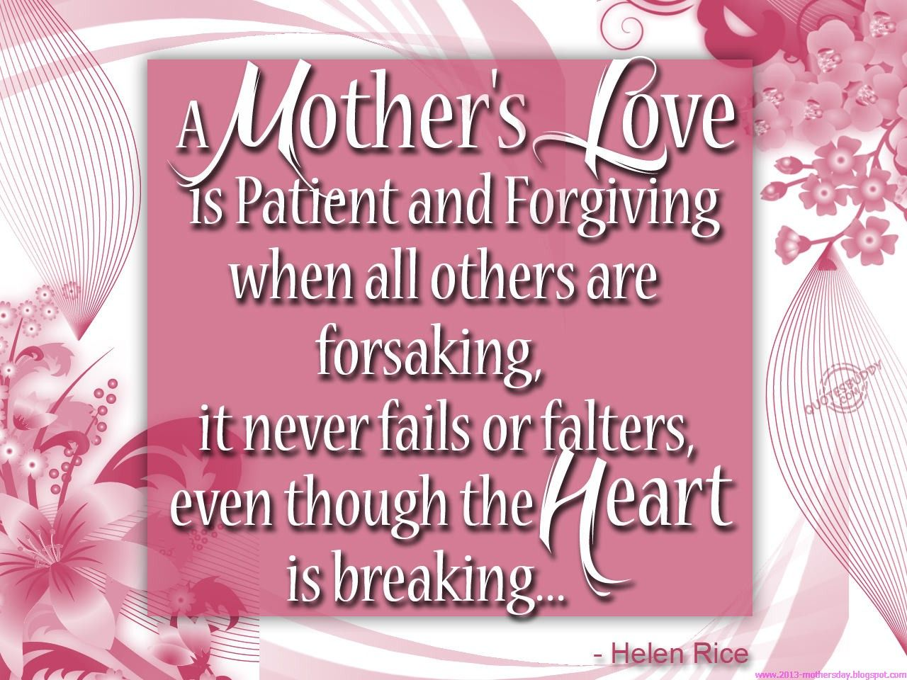 A Mothers Love Quotes Happy Mothers Day Pictures  Happy Mother's Day Quotes And Wishes