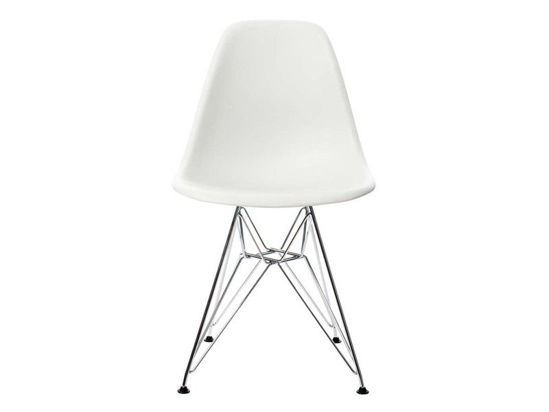 Buy the Vitra DSR Eames Plastic Side Chair online at Nest.co.uk 225 GBP