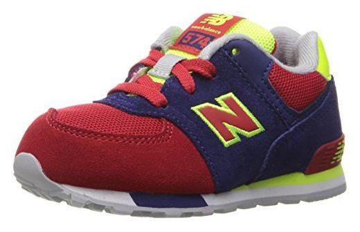 new balance 574 blu rosso