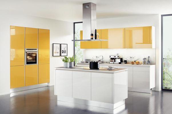 #bucatarii #nolte #kikaromania Bucătăria Nova Lack, Nolte Este Ultramodernă  Cu Fronturi Din MDF Lăcuit în 7 Straturi.