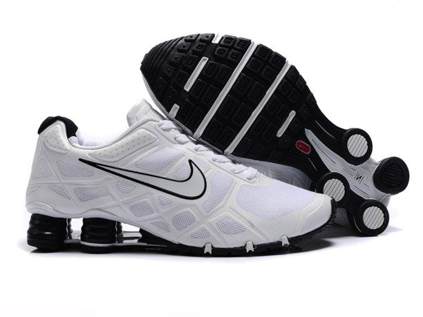 85cf015b0cf Nike Shox Turbo 12 Shoes Mesh White Black | Distinguished in 2019 ...