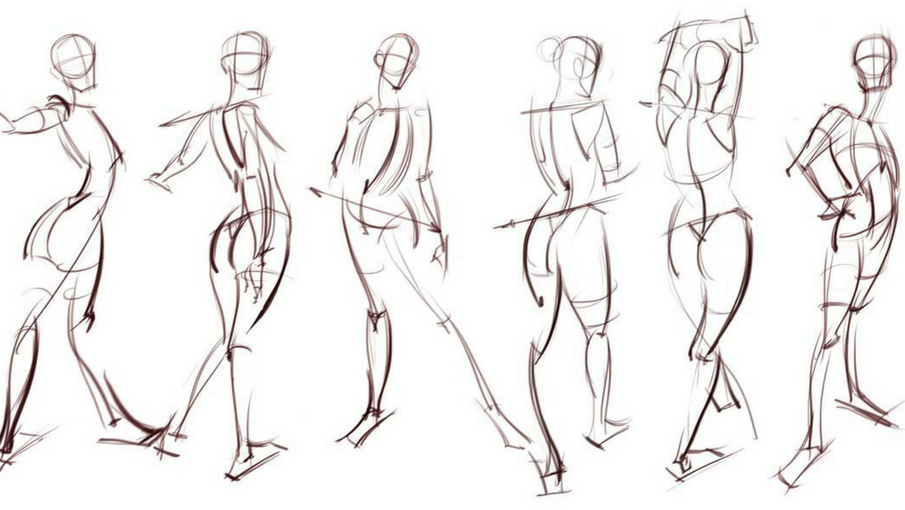 Expressive Figure Drawing In 2020 Gesture Drawing Figure Drawing Human Figure Drawing