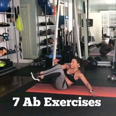 core workouts #coreworkouts Ab workout routine. Thos routine consists of the best exercises for a fl...