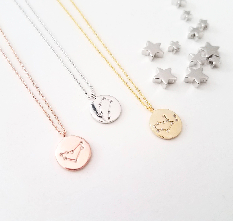 Zodiac Jewelry Celestial Jewelry Constellation Necklace
