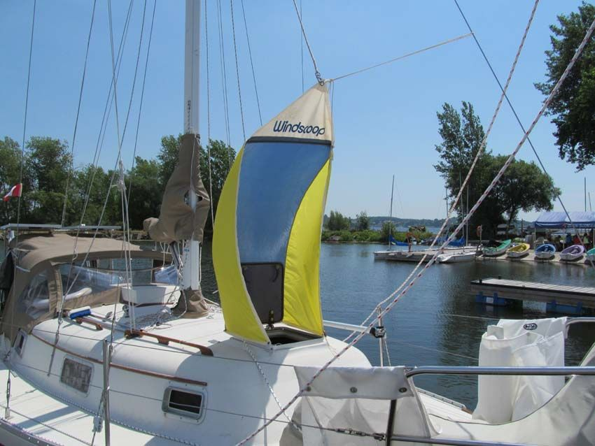 Make a 4-way windscoop | the boat galley.