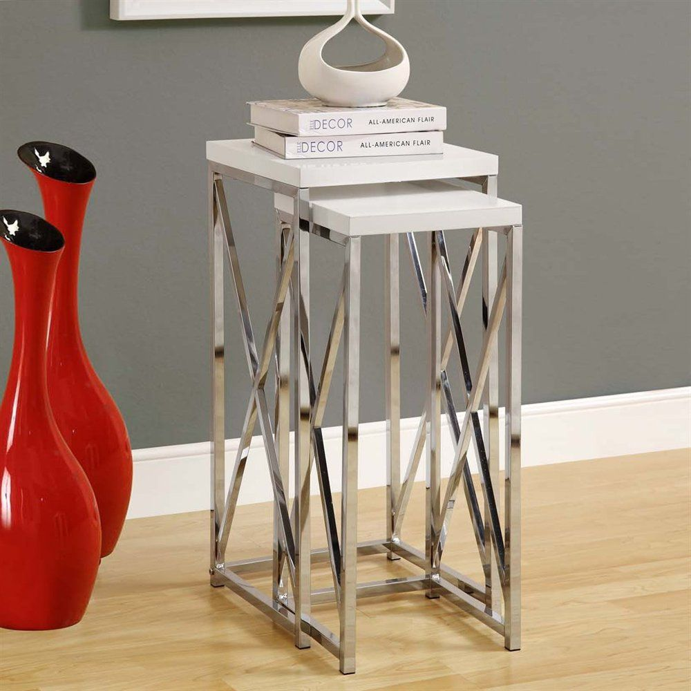 Shop Monarch Specialties  I 3 Plant Stand Nesting Table Set at ATG Stores. Browse our nesting tables, all with free shipping and best price guaranteed.