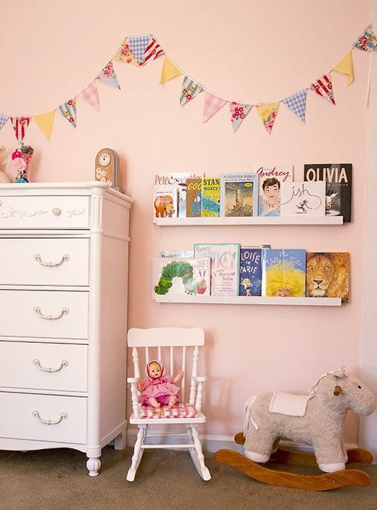 Cuartos de bebes estilo vintage deco princesas for Cuartos de ninas estilo vintage