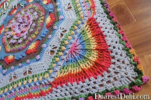 Garden Romp Crochet Along 2017 Part 8 (DearestDebi | Häckeln und ...
