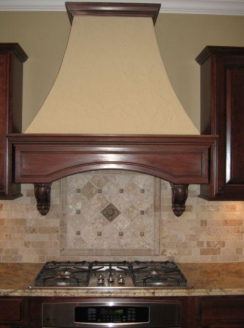 built in hoods for kitchen | Custom Home Kitchen: Custom Range ...