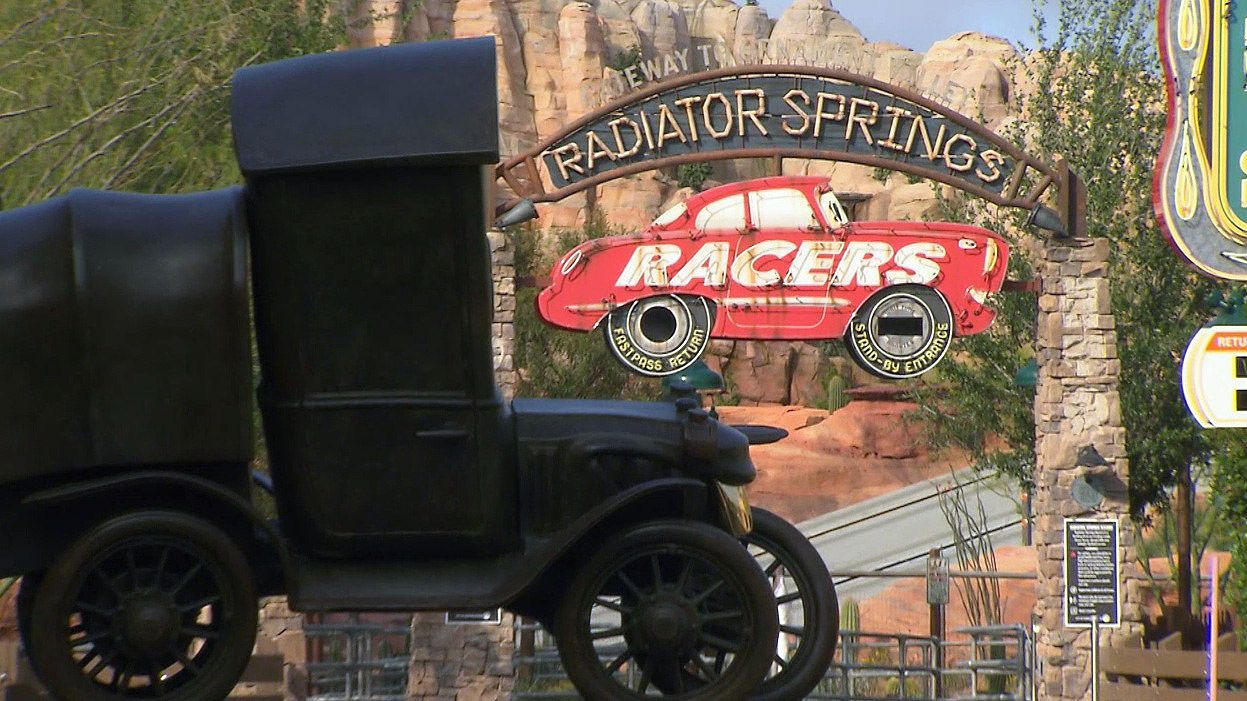 @Natalie Perez.  Ummmmm fiVe more days til we can ride this. Sooo excited for cars land. Thanks for being a winner