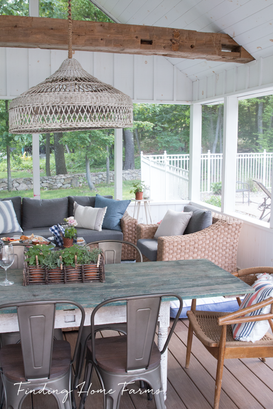 Our Farmhouse Screened Porch Finding Home Farms House