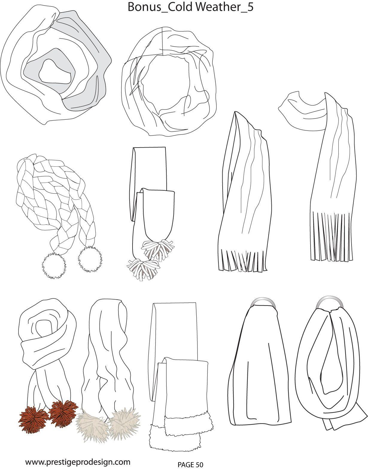 scarf outline drawing wiring diagrams \u2022scarves flat sketch pinterest fashion fashion sketches and rh pinterest com boot outline boot outline
