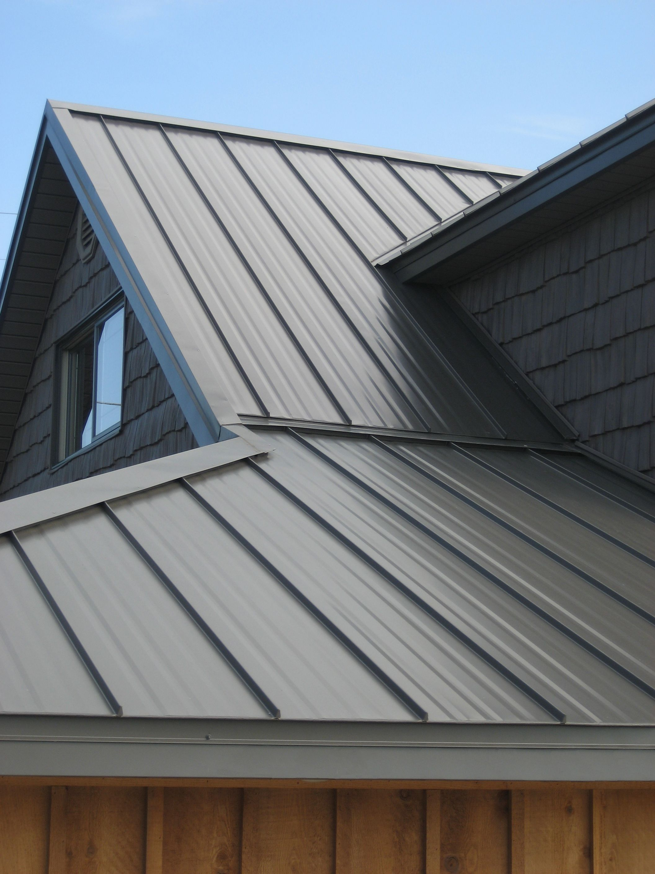 Metal Roofing Can Be Used For Domestic Or Commercial