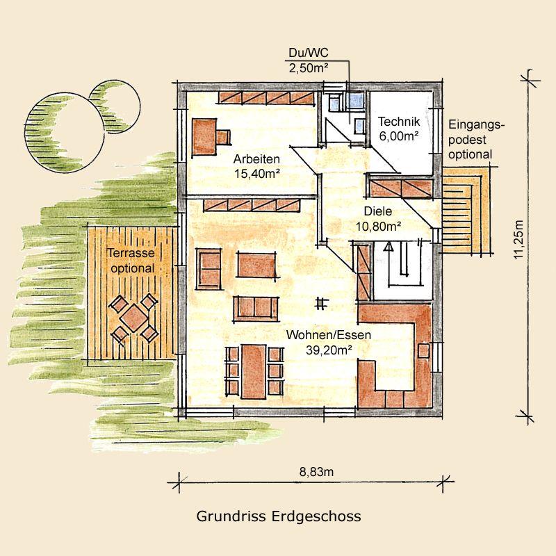 Holzhaus Potsdam » Beispielhaus