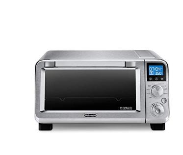 De Longhi Livenza Compact Stainless Steel Digital Oven 0 5 Cu Ft