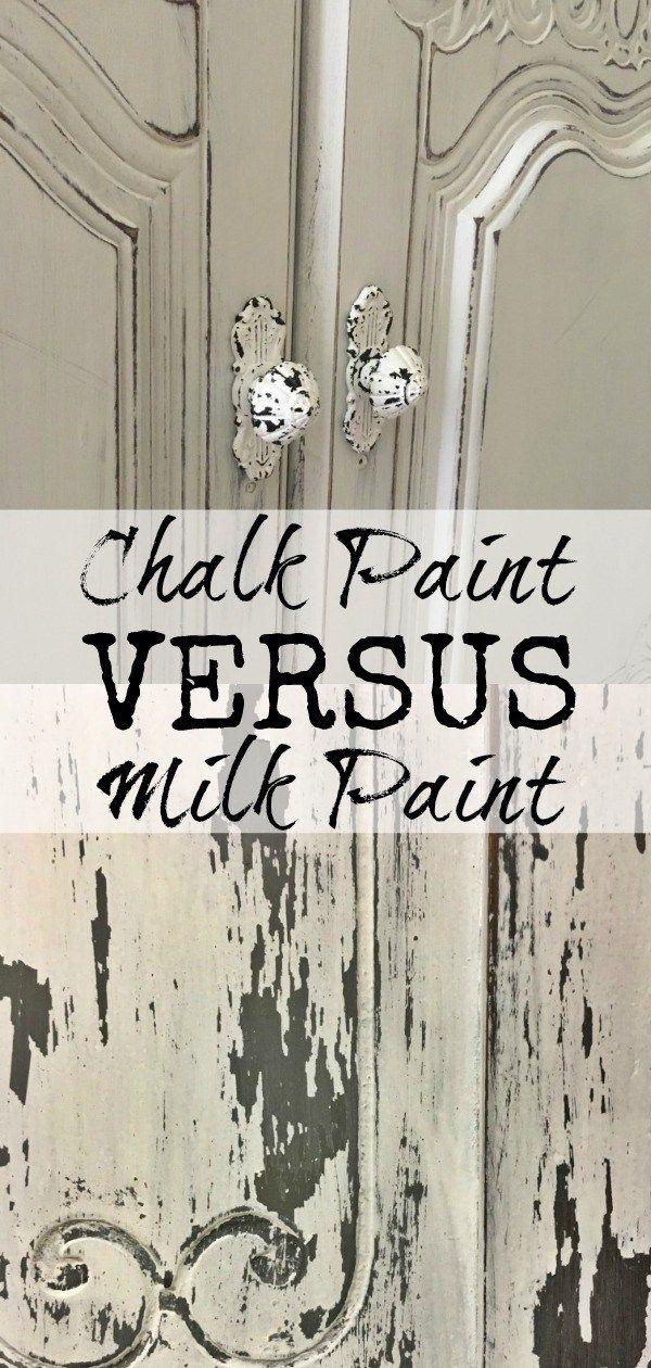 Chalk Paint vs Milk Paint Which is Better? Milk paint