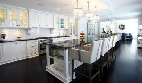 Hampton Style Kitchen Designs Love This One Bar Chairs Are Amazingcabinetryfloor Is
