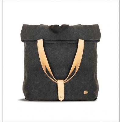 11aecb69c6 Burban combo canvas and leather backpack and shoulder bag. Handcrafted in  Greece Casual bag