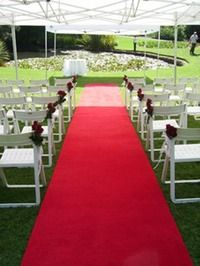 Colored Aisle Runners
