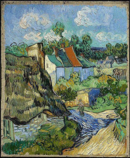 Vincent van Gogh - House at Auvers [c.1890]