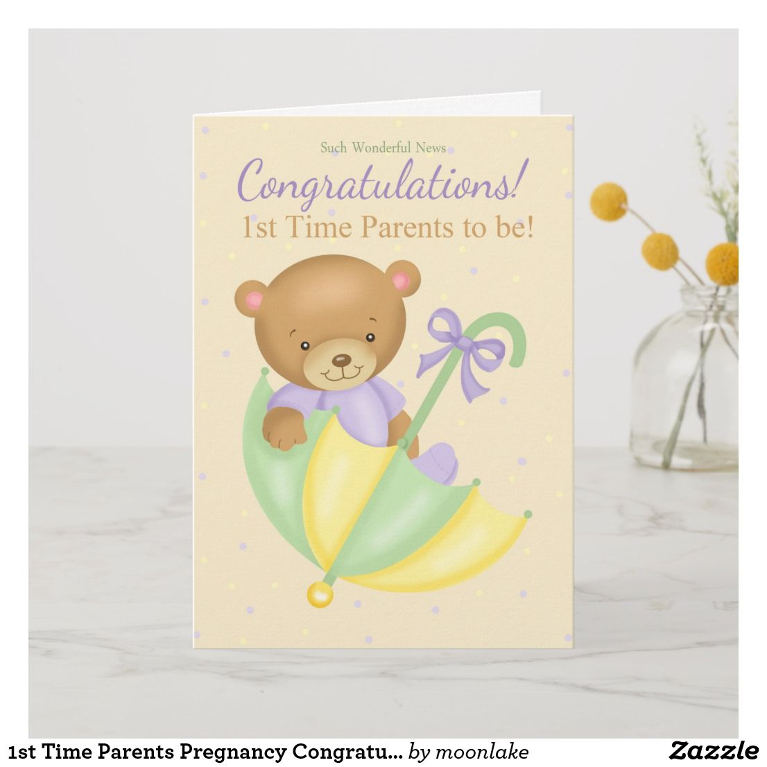 Pregnancy Card Congratulations Card Bundle of Joy Pregnancy Card Expecting Baby Expecting Card Baby Card Going to be Parents Card