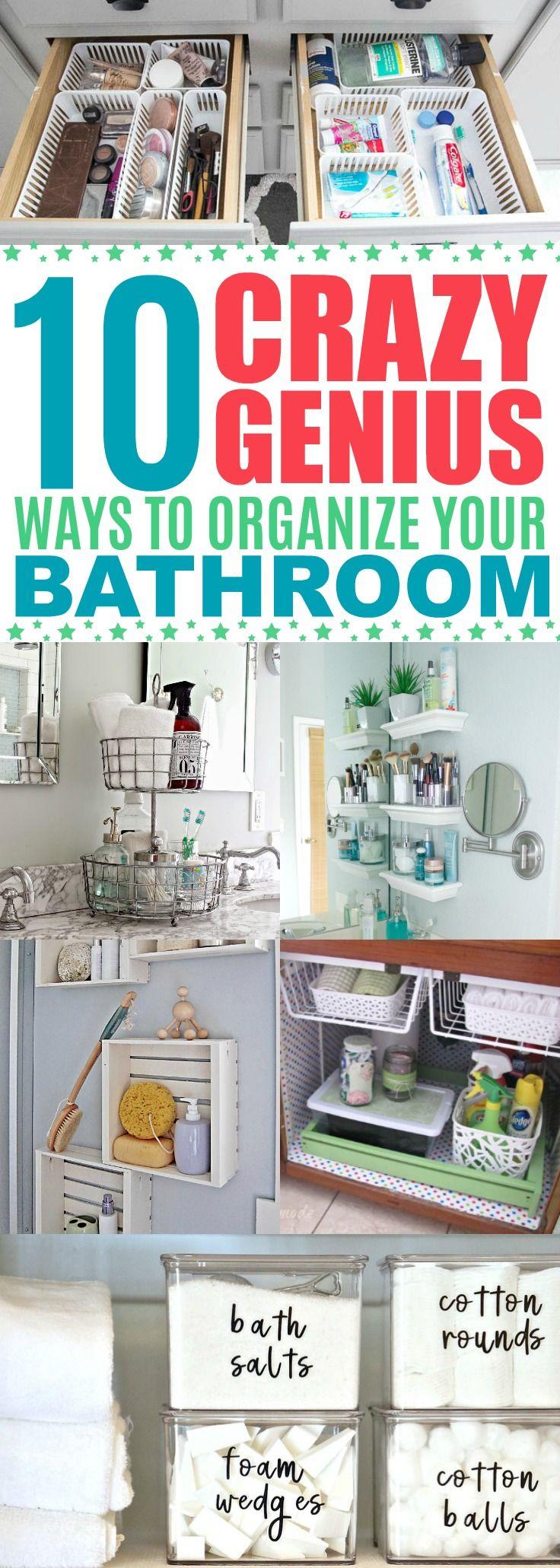 life changing ideas to organize your bathroom bathroom