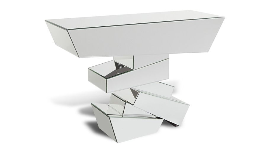 Naxos Mirrored Console Table In 2021, Contemporary Mirrored Console Table