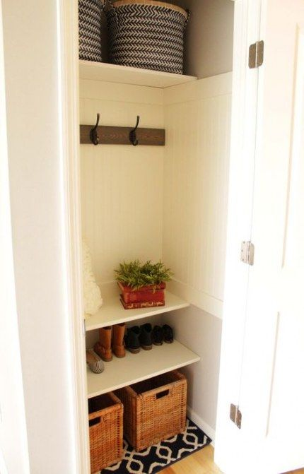 46 ideas narrow walk in closet ideas diy shoe shelves for on extraordinary small walk in closet ideas makeovers id=85493