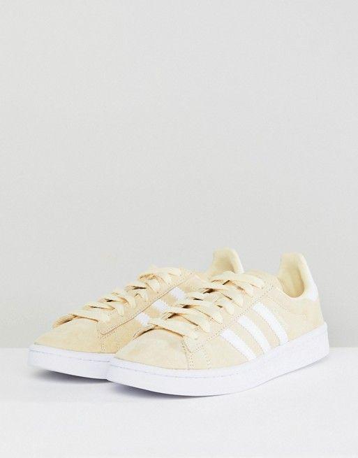 Adidas Originals Campus zapatillas en Amarillo Limon Zapatos Pinterest