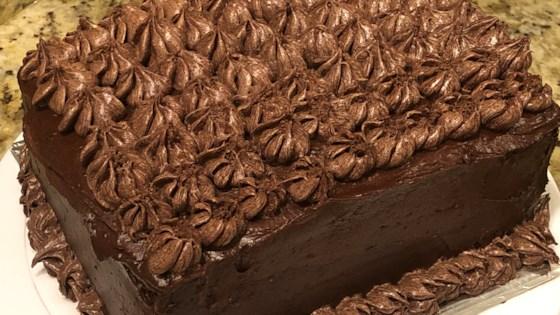 Moist Chocolate Layer Cake Recipe Chocolate Layer Cake Recipe Layer Cake Recipes Chocolate Layer Cake