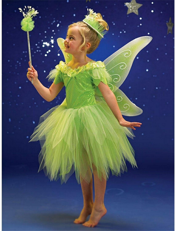 kids green fairy costume tinkerbellcostume4ucom 4890 - Green Fairy Halloween Costume