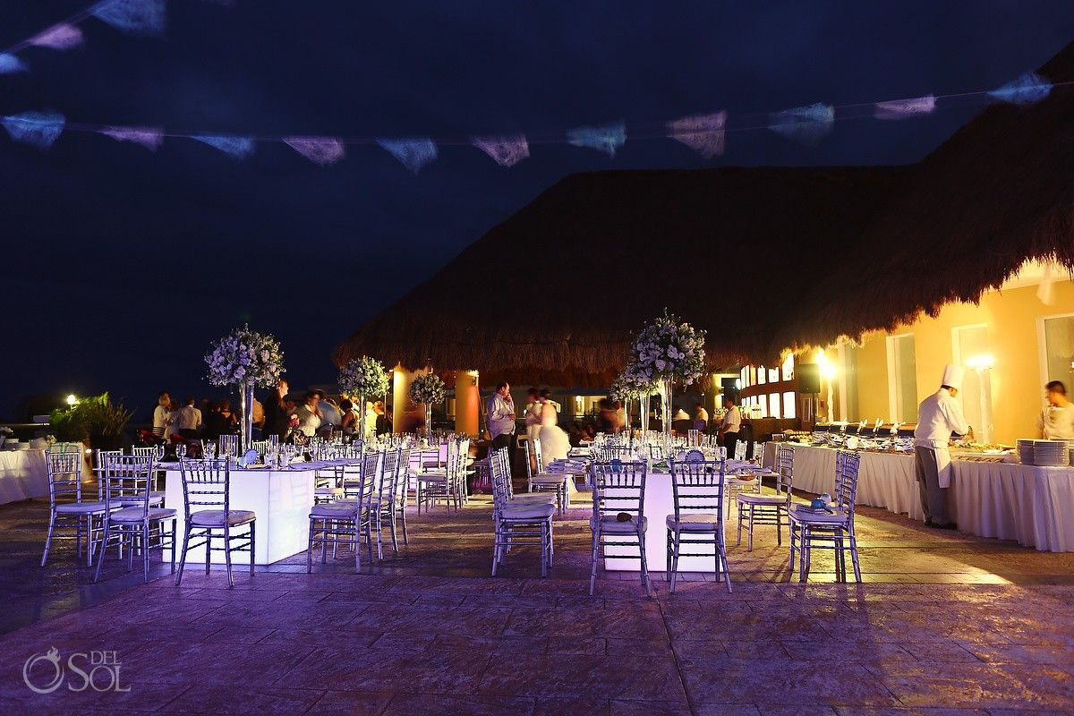 Reception Set Up At The Moon Palace Resort In Cancun Tammy Juusola Resorts Weddings Mexico Wedding Photographers Del Sol Photography