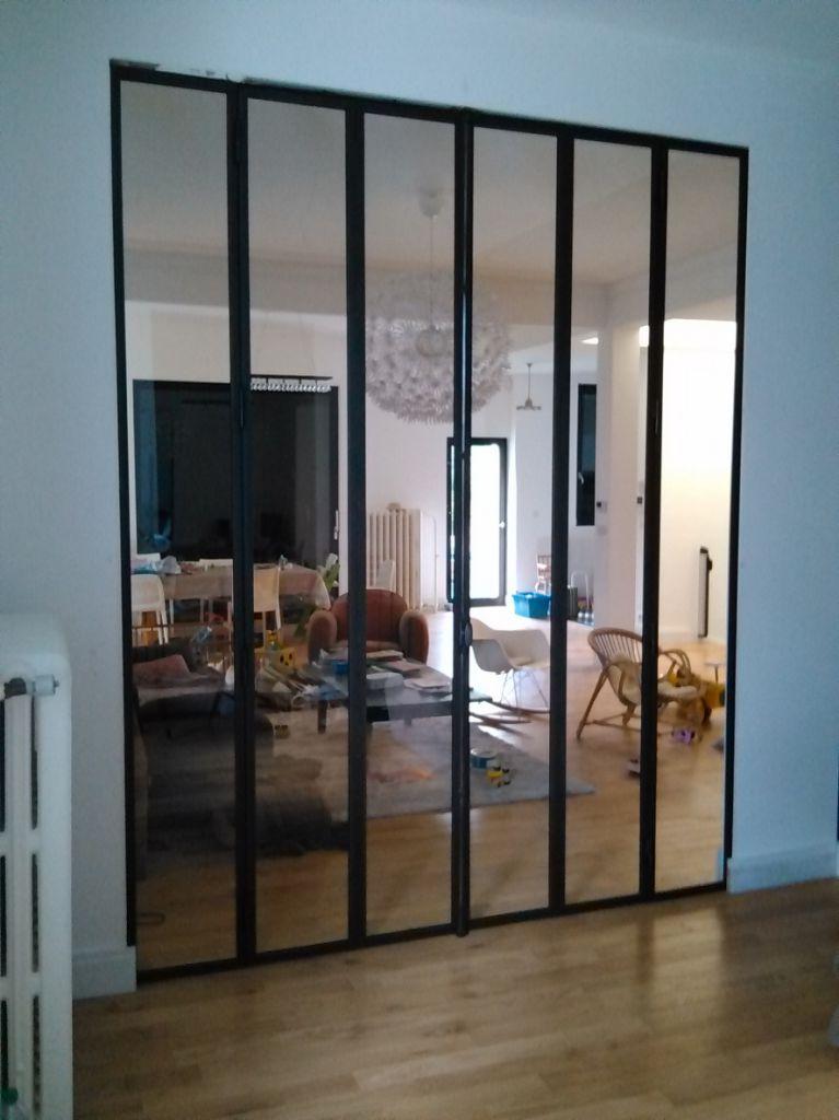 Verrière intérieure - Verriere Atelier - baie vitrée - Nancy ...