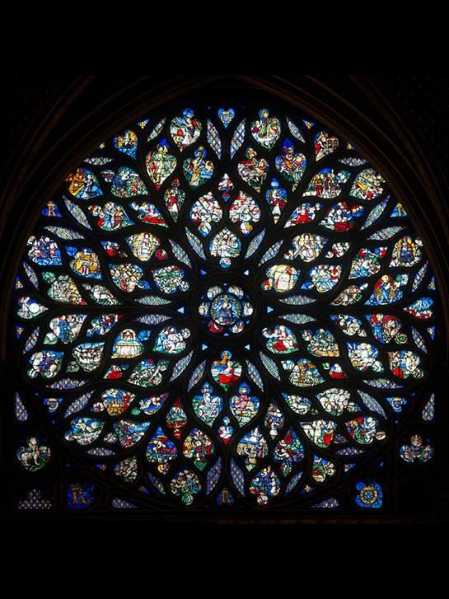 The Stained Glass Windows Of Gothic Masterpiece Sainte Chapelle In Paris Are On Display After A Seven Year Restoration