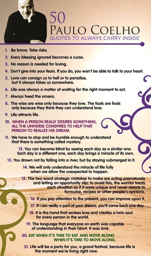 spreuken paulo coelho 50 Paulo Coelho Quotes for the Soul | Party Dresses | Quotes  spreuken paulo coelho