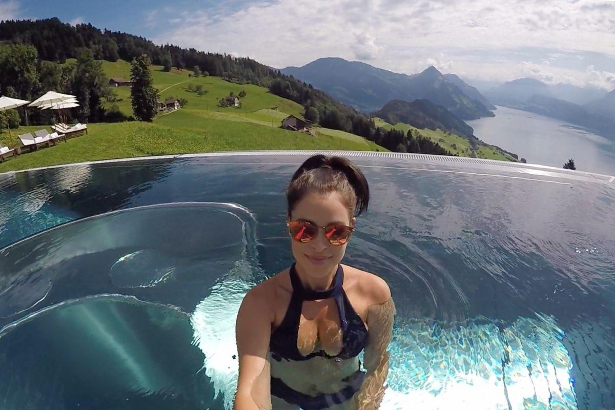 Hotel Villa Honegg destiné 11 breathtaking photos from the famous hotel villa honegg pool