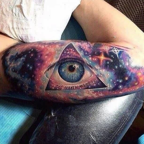 Illuminati Tattoo Motive  - http://tattootodesign.com/illuminati-tattoo-motive/  |  #Tattoo, #Tattooed, #Tattoos