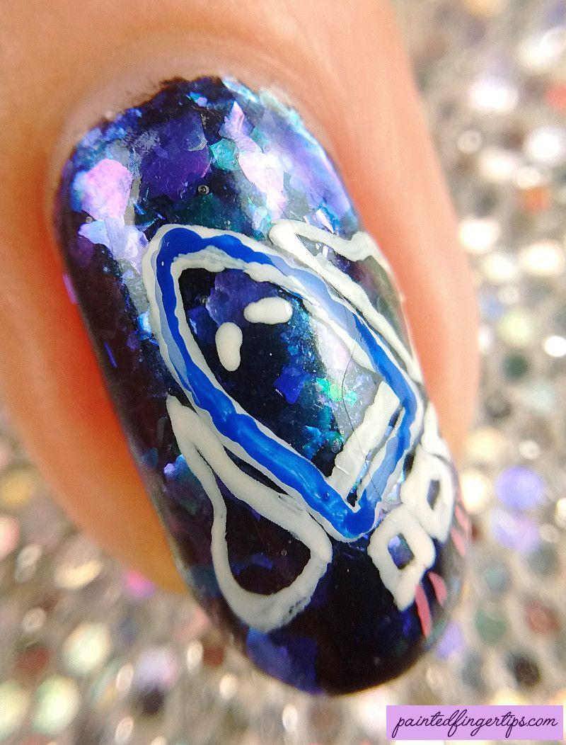 Painted Fingertips | NASA nail art - rocket macro - Re-Pin Nail ...