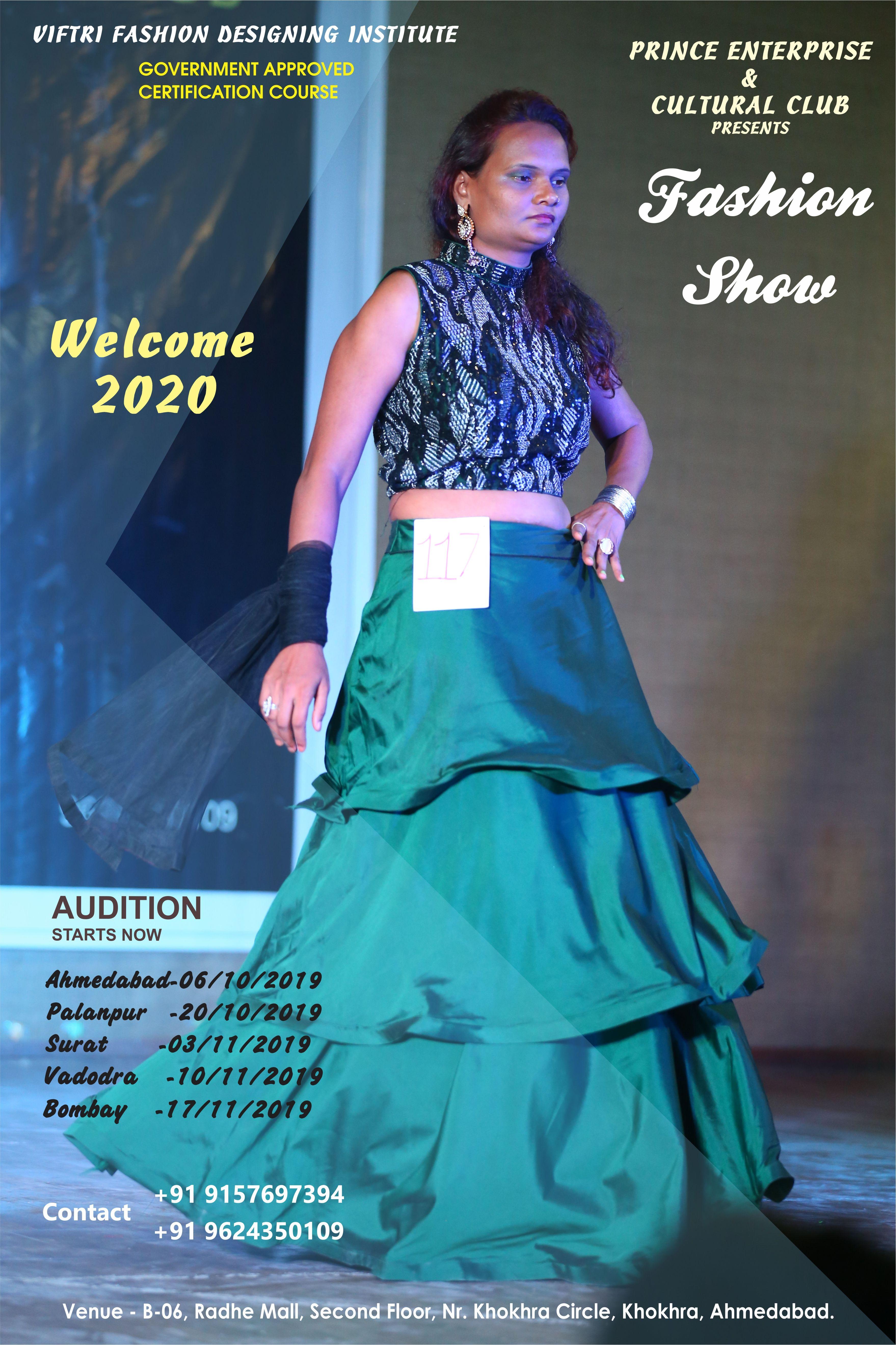 Prince Cultural Club Viftri Fashion Designing Institute Present S Fashion Show 2019 Multi Talent Fashion Designing Institute Fashion Design Fashion Show