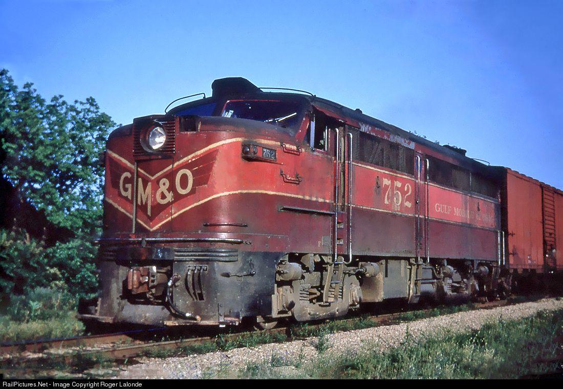 Railpicturesnet Photo Gmo 752 Gulf Mobile Ohio Alco Fa 1 At